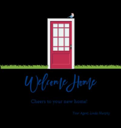 Welcome Home Red Door