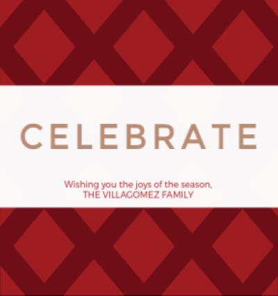 Celebrate - Red