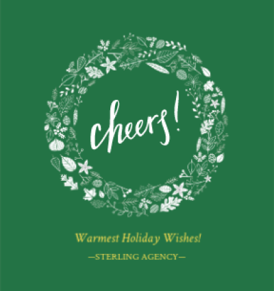 Cheers Green Wreath