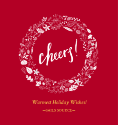 Cheers Red Wreath