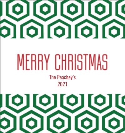 Geometric Merry Christmas