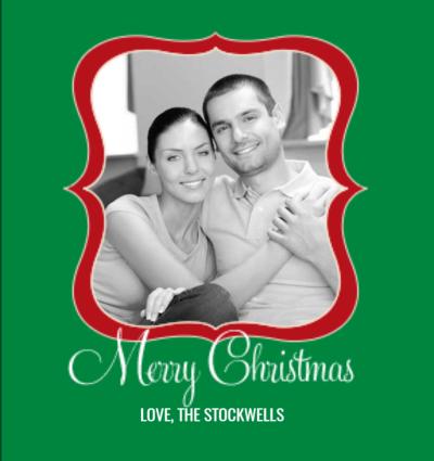 Christmas Script Frame
